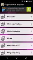 Drug Addiction App